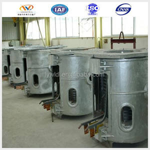 Alibaba website small 1.5ton induction electric smelting furnace