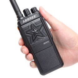 ABBREE AR-819 10W Powerful No magnetic Loudspeaker Walkie Talkie two way radio