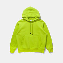 Wholesale hoodies heavy weight solid color unisex fleece men`s hooded sweater shirt casual pullover shirts 7 colors in stock