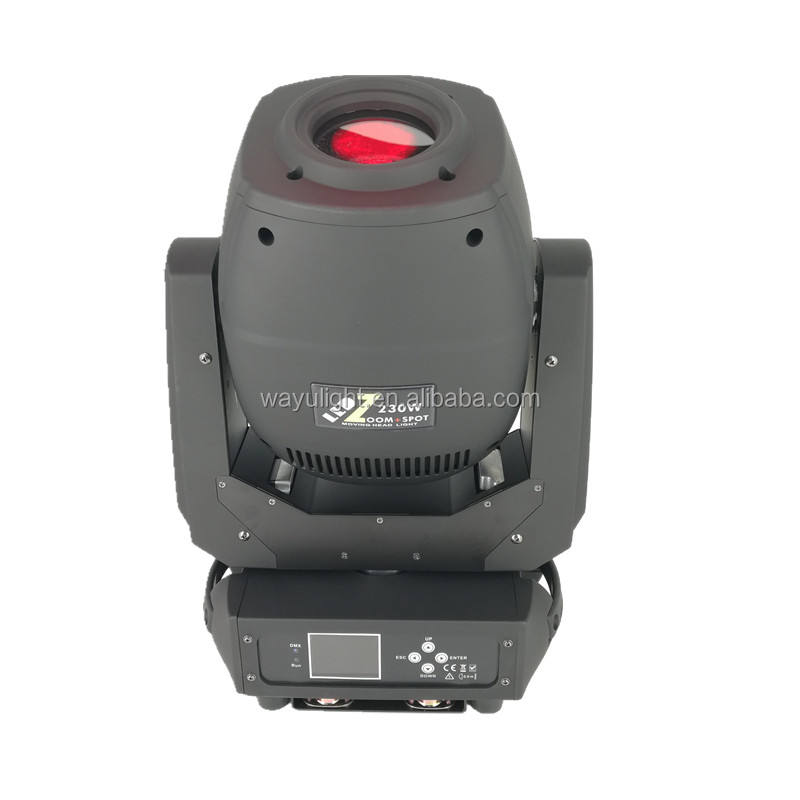 230W LED Beam Spot Wash 3in1 Zoom LED Moving Head Spot Light Rotation 6+5 Double Prism 230W LED Moving Head