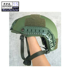 High cut USA standard level IIIA aramid ballistic Fast bulletproof army green helmet