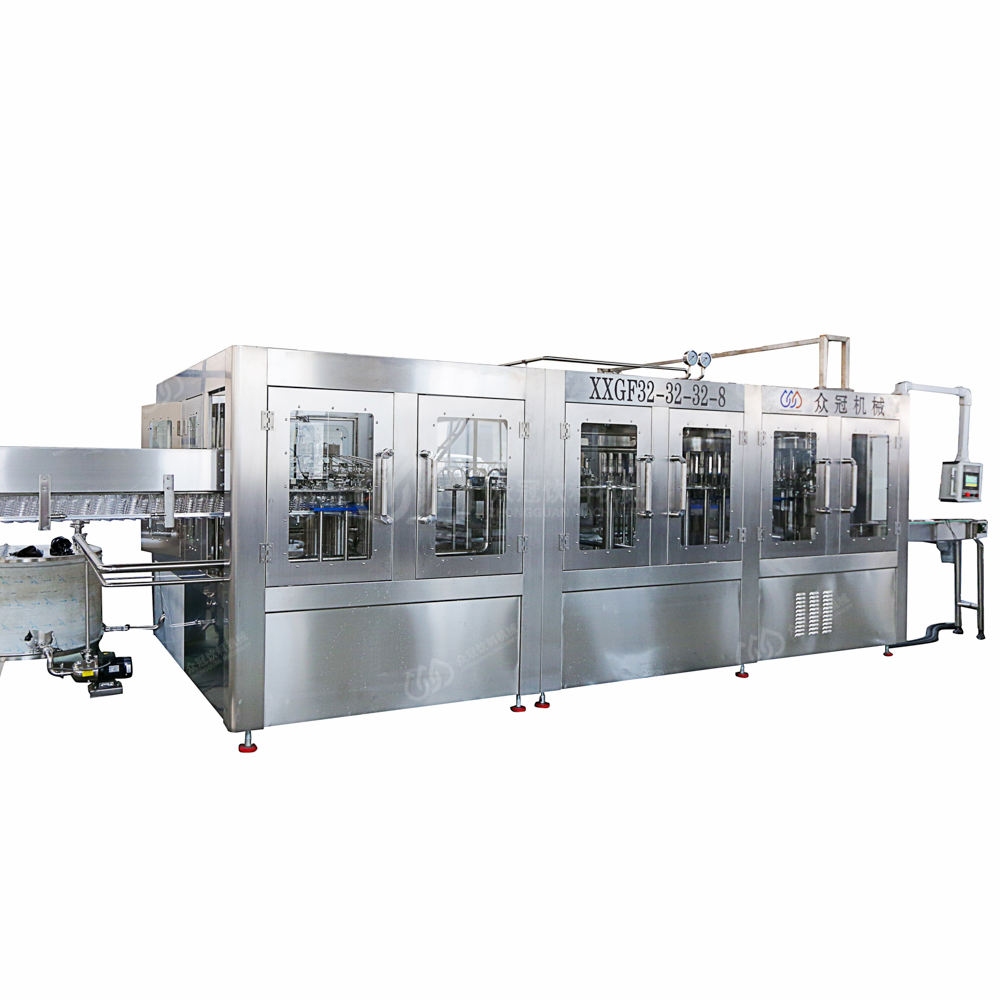 Middle Capacity 8000bph Mineral/Pure Water Filling Machine/Line/Equipment