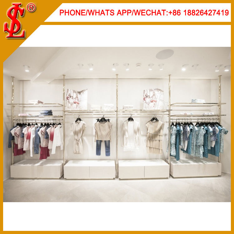 Wholesale Clothing Store Retail Modern, Apparel Display Equipment Stand