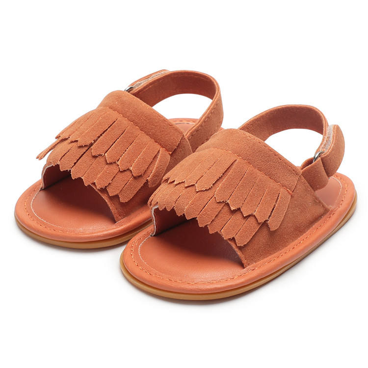 Baby Girl Sandals Summer Baby Shoes Casual Fashion Baby Girl Shoes Sandals For Girls PU Fringed