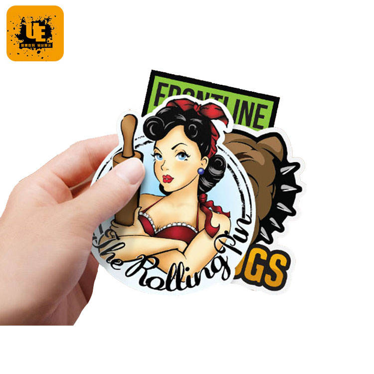 Personalized Waterproof Transfer Paper Die Cut Custom Logo Label Sticker Adhesive Vinyl Pvc Printing Sticker