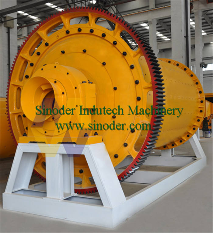 Supply Complete Industrial Explosion-proof ball mill Grinding Machine in mineral powder grinding solution-- Sinoder Brand