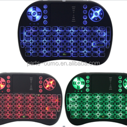 wifi Keyboard mouse T2 tricolor light emitting