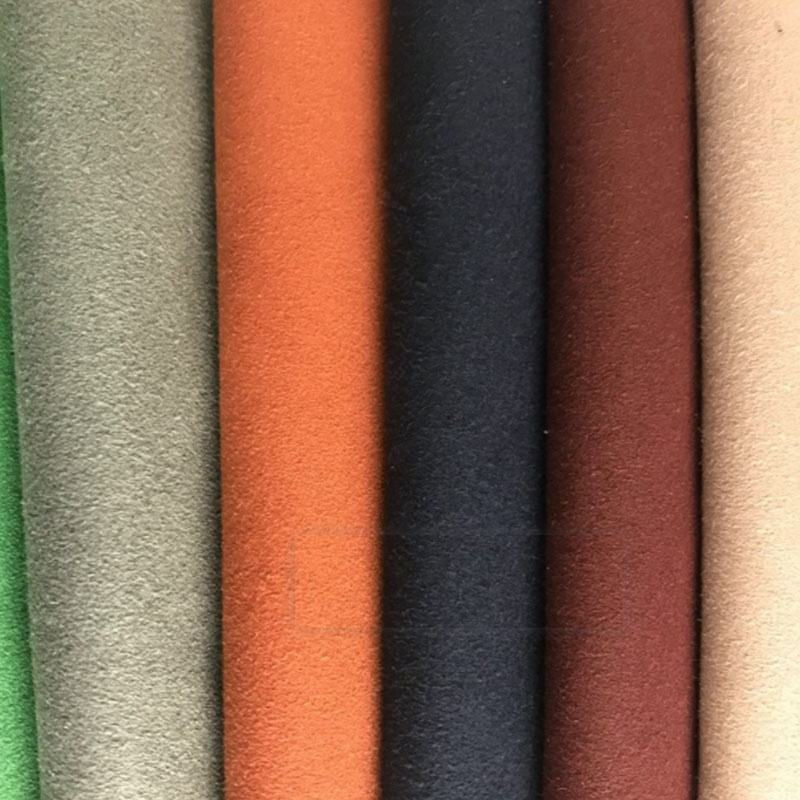 Microfiber suede leather in stocklot for sell