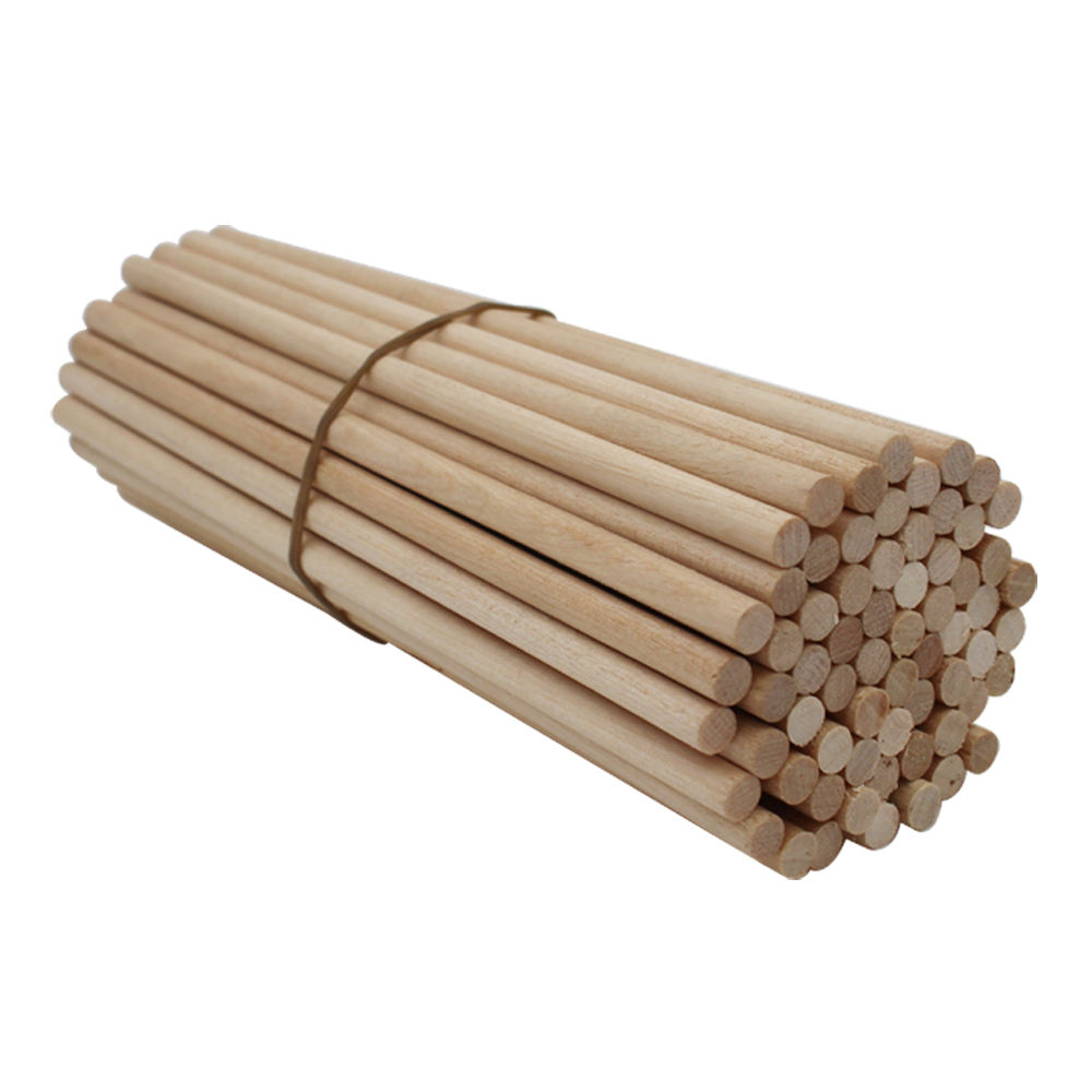 new arrival customized 6mm wooden dowel for furniture legs