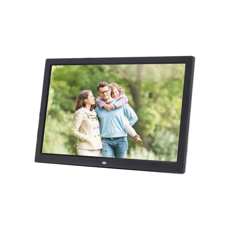 14 inch digital photo frame 1280*800 lcd display support 1080 P HD video/audio/picture