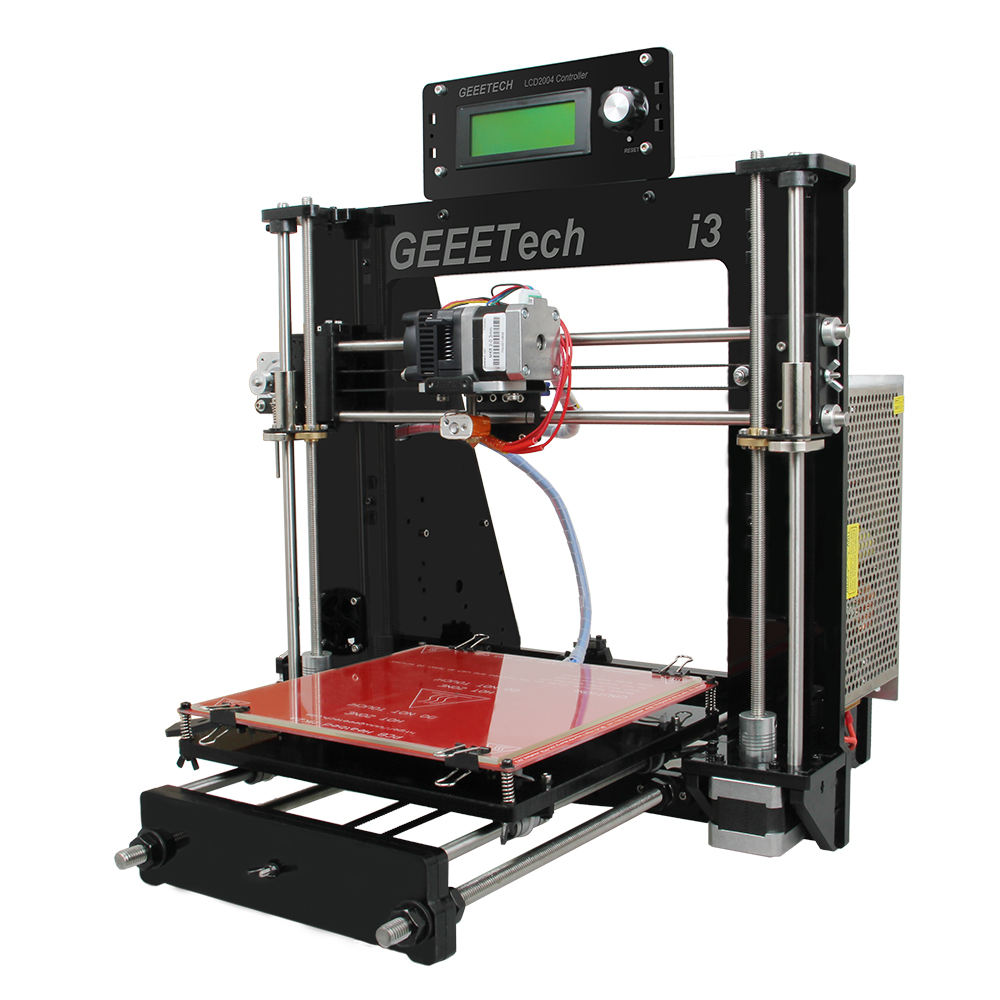 impresora 3d Chinese Geeetech Prusa I3 GT2560 DIY kit 3D printer with auto leveling