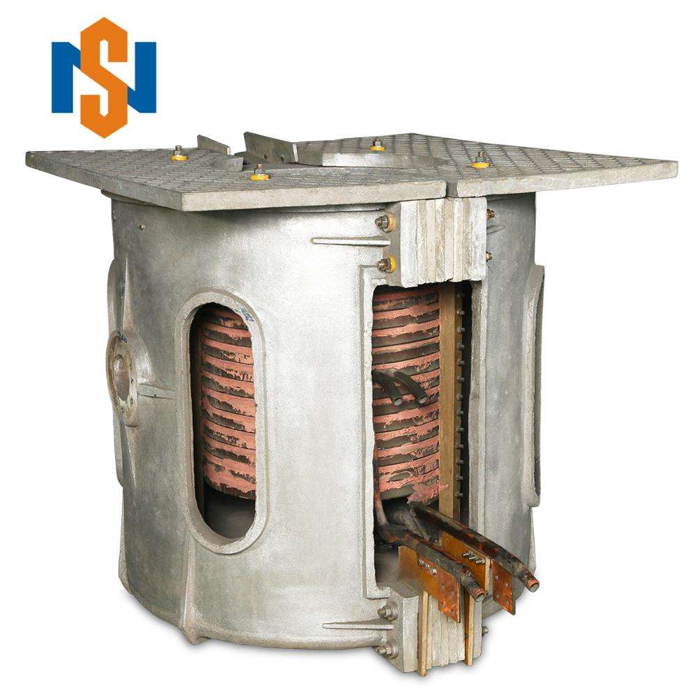 Best selling 5T capacity Medium Frequency melting scrap metal induction forging oven