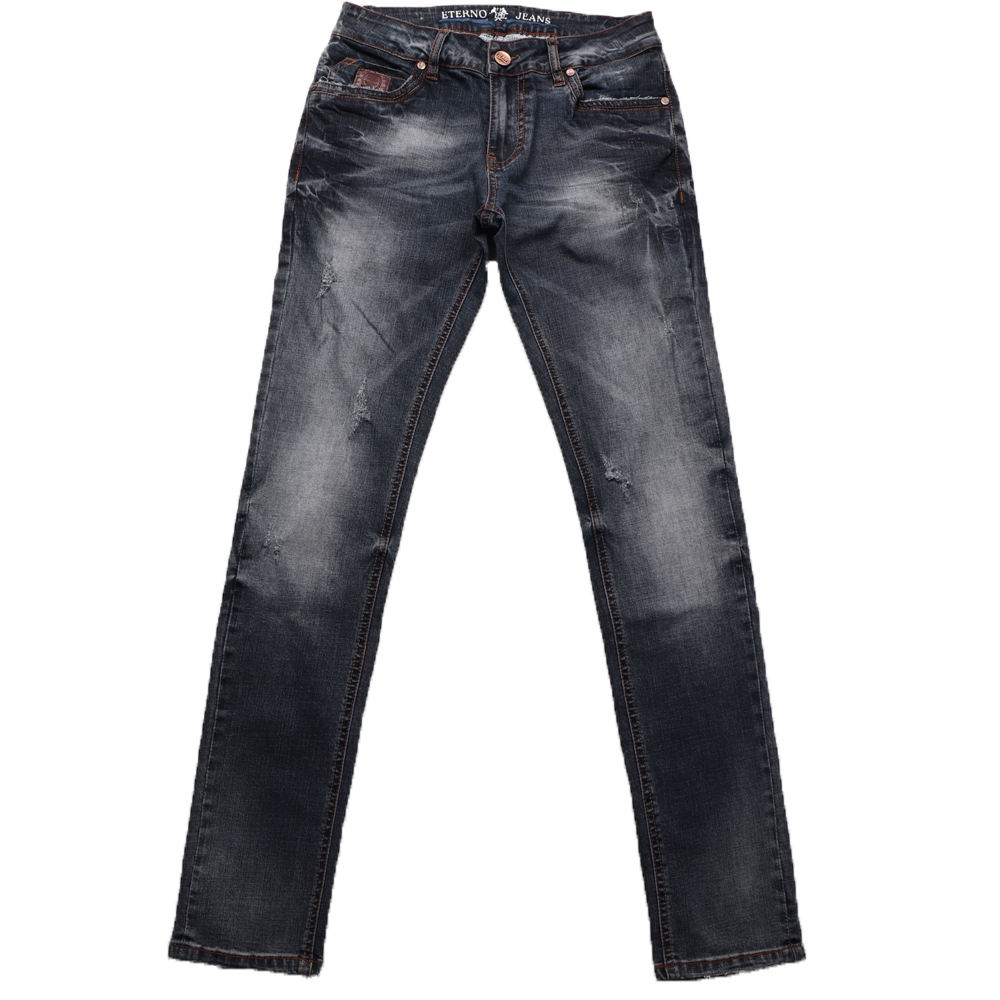 Wholesale men jeans cheap price with bigger quantity from China Guangzhou denim jeans factory