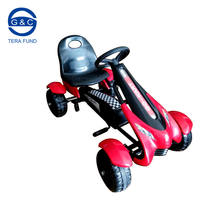 2018 newest kids children pedal racing car go kart, EVA wheels or air tire