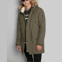 wholesale men's clothing custom mens fishtail parka