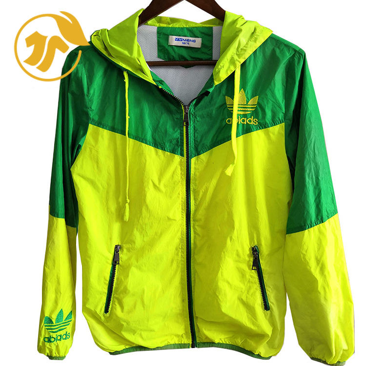 Grade top second hand used clothing of Men Nylon Jogging Wear in U-clothes