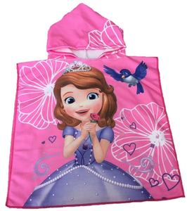 China Factory Printed Microfiber Changing Bath Baby Hooded Beach Towel