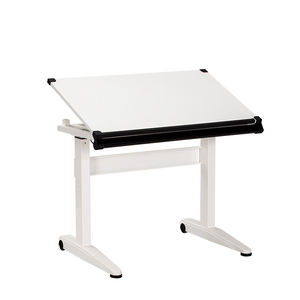 lockable pneumatic position gas spring height adjustable stand desk table