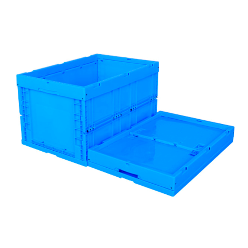 600*400*345 Foldable Plastic Packaging Stackable Box/Crate