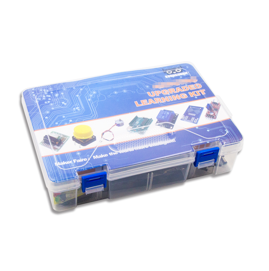 Top Selling Producten Uno Starter Kit Elektronische Kit Sensor + Stappenmotor + Broodplank + led + Buzzer voor Uno r3 Kit