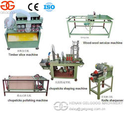Automatic Twins Disposable Wooden Chopsticks making machine