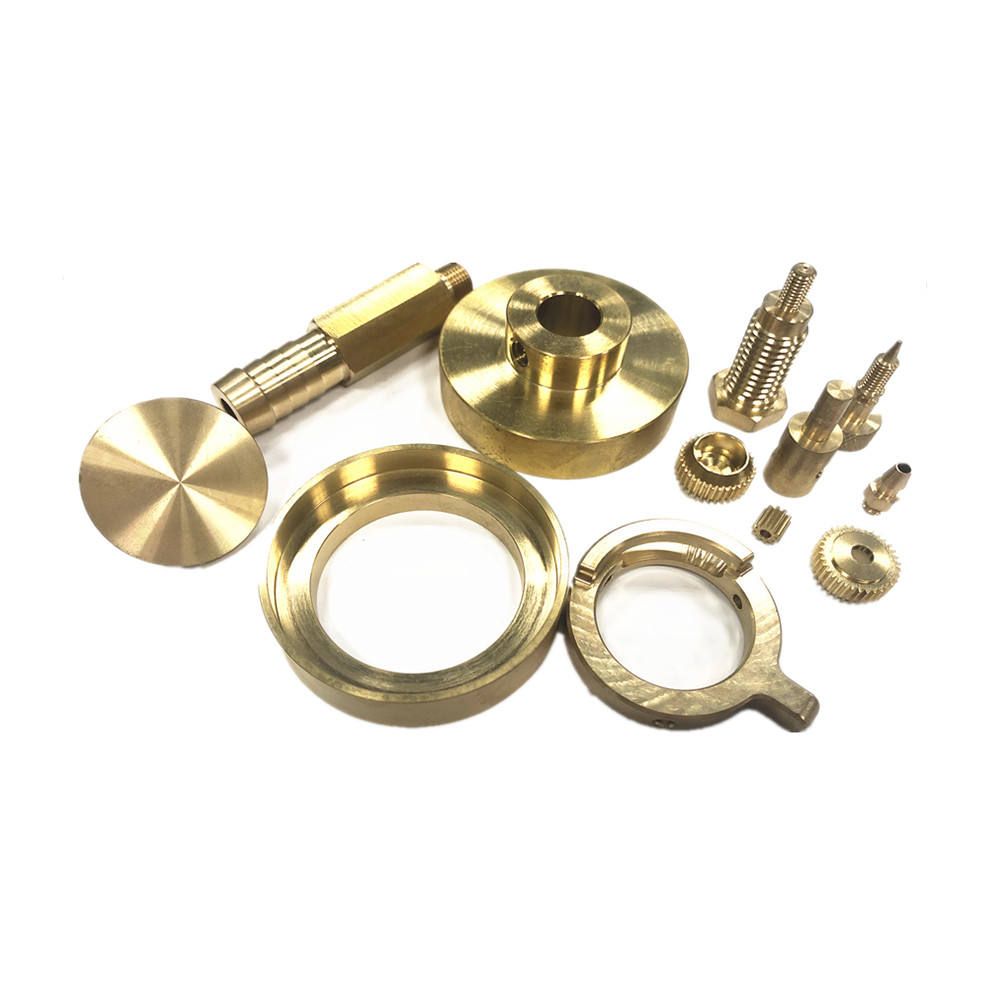 Brass [ Spare Parts Machining ] Custom Cnc Brass Spare Parts Brass Nuts/inserts/shafts/pins/spacers/gears Cnc Lathe Cnc Machining Services