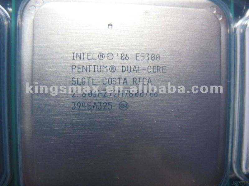 INTEL CPUのペンティアムE5300 2.6Ghz 2M 800