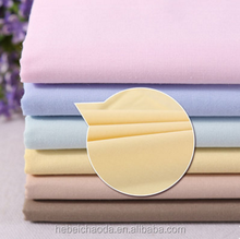Polycotton 65/35 fabric/65% polyester 35% cotton plain uniform fabric