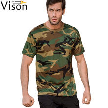 custom logo shirt woodland Military Tactical t shirt army camouflage camo combat tshirt