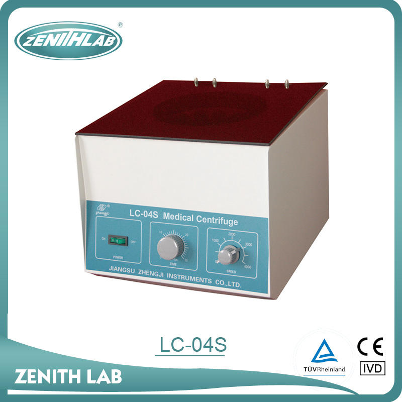 Classical metal case centrifuge machine for blood/all types of centrifuge LC-04S