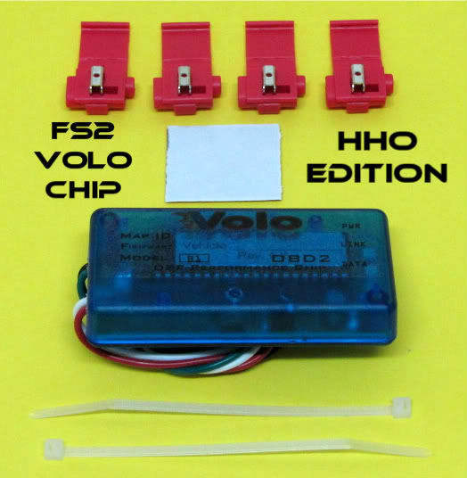 HHO ELECTRONICS SAVE FUEL GAS MPG EFIE MAP HYDROGEN GENERATOR VOLO CHIP GUARANTE