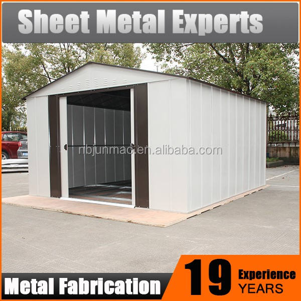 Metal Outdoor Tool Storage Garden Sheds for Sale prefab warehouse houses