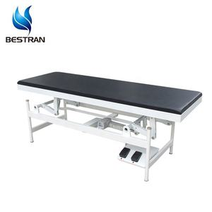 BT-EA009 Electric foot pedal controlled equipment furniture exam patient clinic hospital Medical Examination Couch Bed table