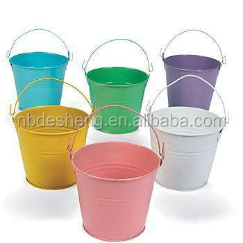 Fashion Wholesale Metal Pails/Buckets/Barrels