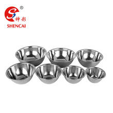 High Quality Stainless Steel Salad Mixing Bowl Set Cheap Soup Bowl Noodle Bowl