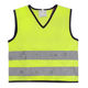 Child Running Security Clothing High Visibility Kids LED Safety Reflective Vest