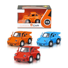 Small size model car toy pull back metal alloy car