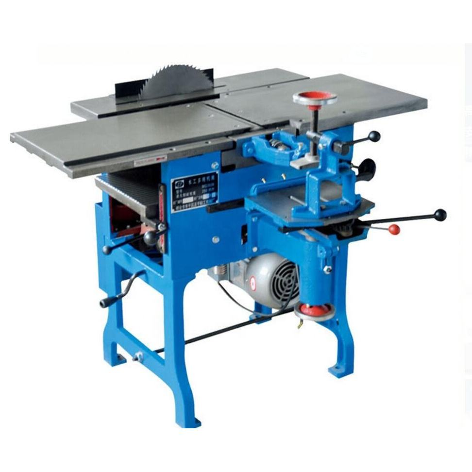 Electric Combination Functional Bench Thicknesser Stump Wood Table Surface Working Planer Multi Woodworking Tools Planer Machine