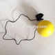 Soft Toy Sports Ball PU Stress Finger Ball with String Promotional Toy Gifts for Children