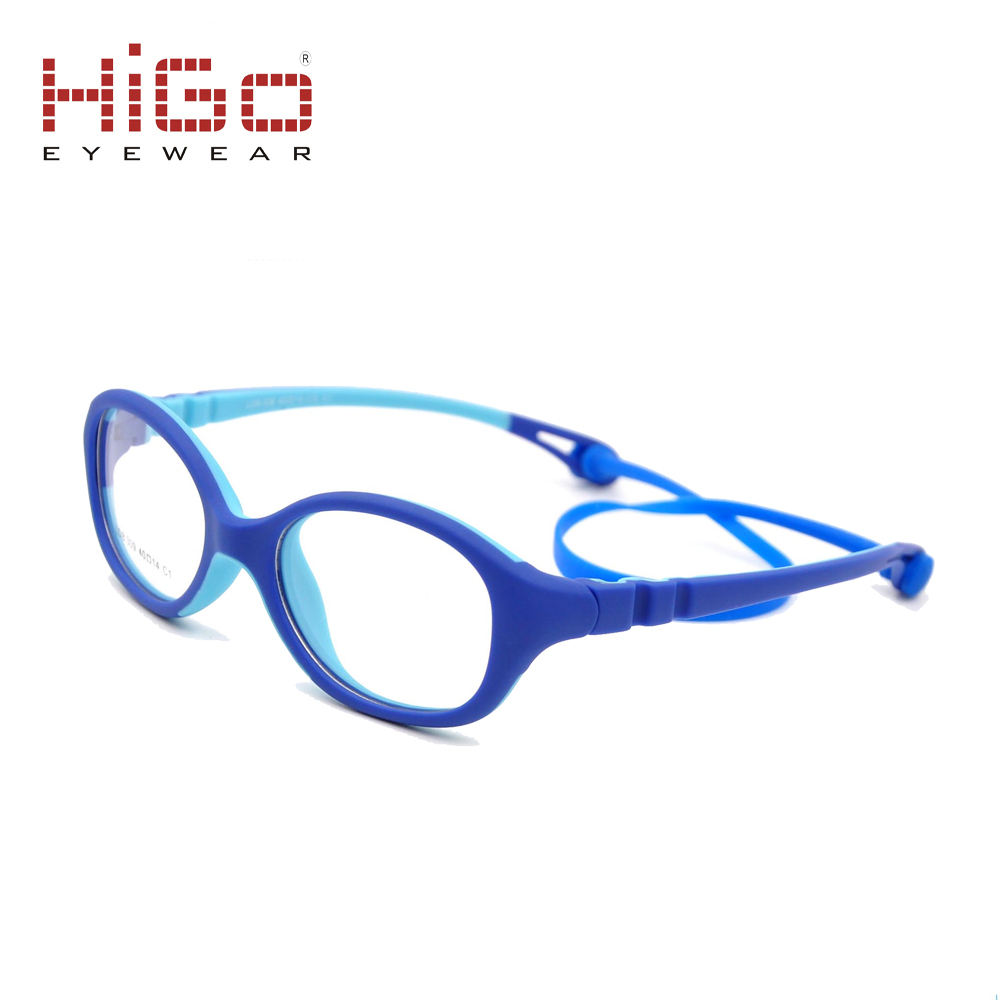 Manufacture Higo Children TR90 Soft Rubber Kids Marcos De Anteojos Optical Frames Eyewear Eyeglasses Glasses