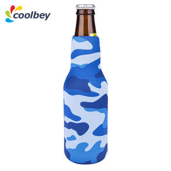 Camo blue foam soft side pocket best wholesale for sale racing drink huggers beer coolers coozies