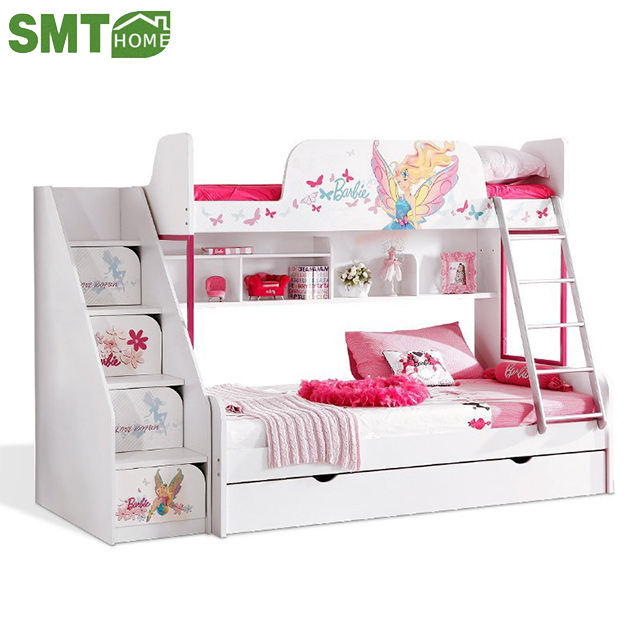 fashionable home furniture triple model bunk bed