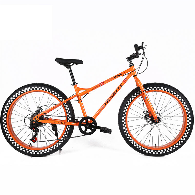"2017 New modle popular fat bike rear suspension with cheap price 26"" fat bicycle fat bike snow san 6 speed fat cycle taiwan"