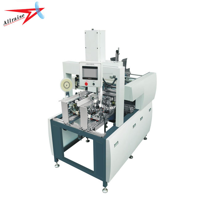 Allraise Automatic Carton Box Angle Pasting Machine
