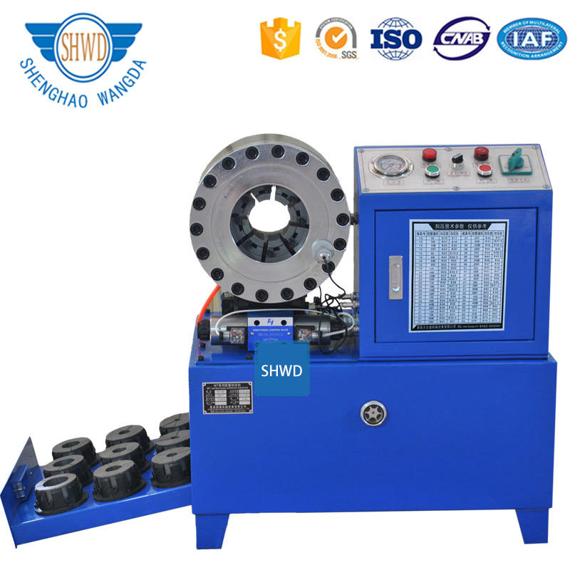 Wholesale Retail Low Prices Automatically Hydraulic Hose Crimper / Hydraulic Hose Crimping Machine