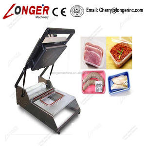 Small Lunch Box Manual Tray Sealing Machine|Manual Fast Food Sealer