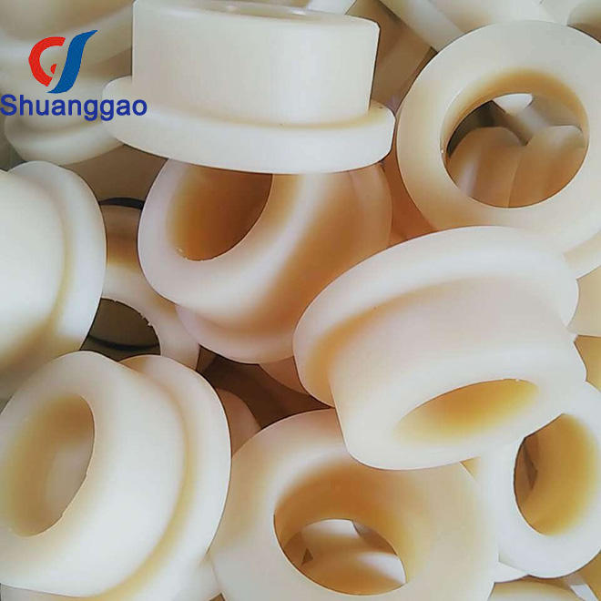 Custom Self-Lubricating Plastik Nilon Flanged Bushing