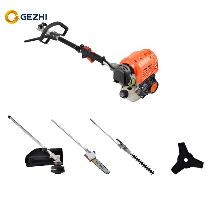4 stroke Garden Multi tools set with Brush cutter spare parts heavy duty gas trimmer