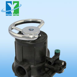 runxin manual filter valves control valve N56D for FRP pressure vessel 10T/H 10m3/h with wave cyber frp tanks