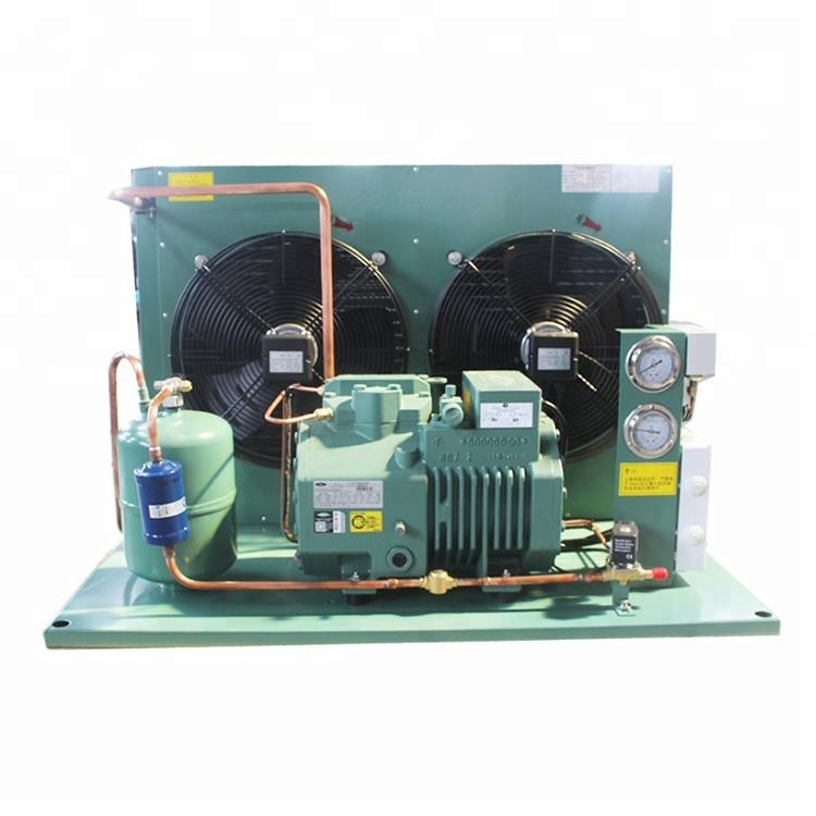 refrigeration equipment cooling compressor system condensing unit for blast freezer